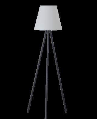 """מנורת עמידה פנים/חוץ אהיל 130 ס""""מ"""