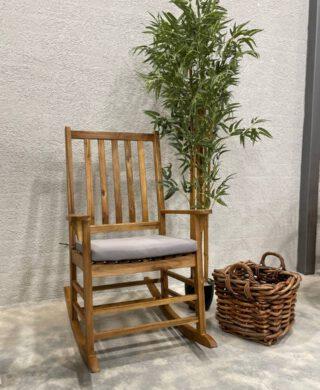 כסא נדנדה מעץ דגם מרטין