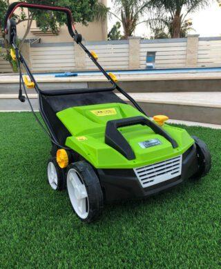 סוויפר פרו – מכונת הברשה וניקוי לדשא סינטטי
