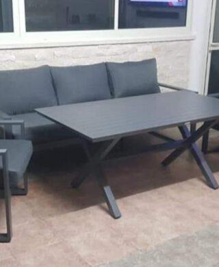 """מערכת ישיבה תלת מושבי דגם """"קסם"""""""