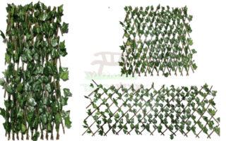 גדר אקורדיון בתוספת עלים ניתן לפתיחה במידות שונות